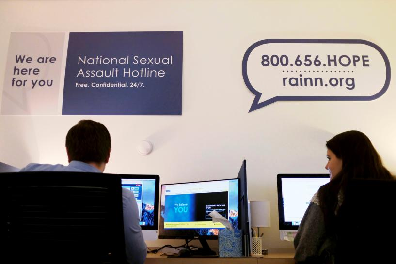 #MeToo effect: Calls flood U.S. sexual assault hotlines https://t.co/f7o7dkB0uD https://t.co/50DzgwK3qn