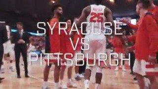 🎥 Visual Recap - Syracuse vs. Pittsburgh https://t.co/2z0VGcHV5F
