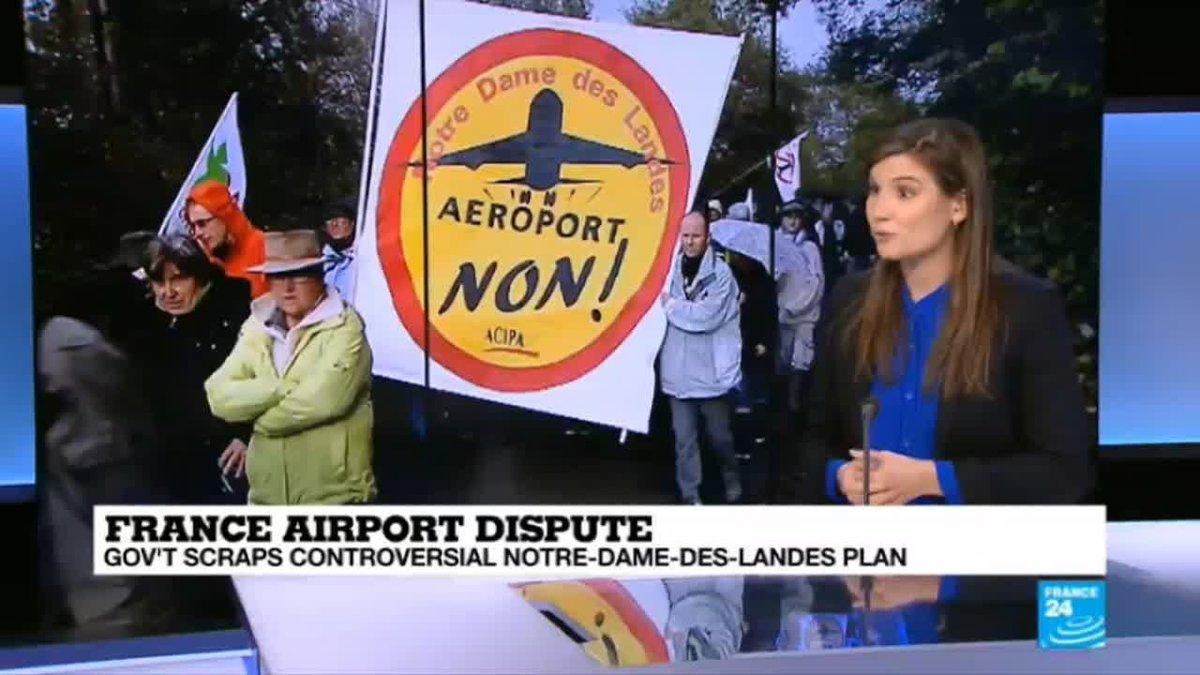 "?? France airport dispute: ""the end of a huge emotional saga"""
