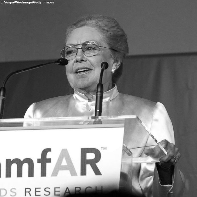 AIDS research pioneer Mathilde Krim, founding chairman of amfAR, died Monday at age 91: https://t.co/So02ClzG6W https://t.co/F1jwNI1zSJ
