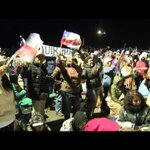 Thousands of pilgrims await pope for open air Temuco mass