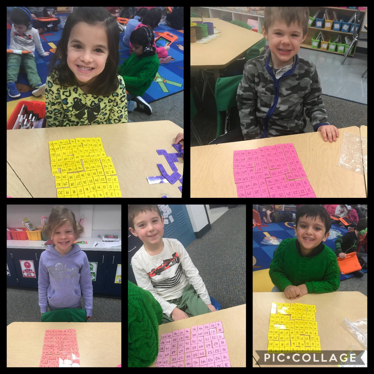 test Twitter Media - These mathematicians persevered on the hundreds chart puzzle today! #d30learns #wbplays #kindergarten https://t.co/juSUhDTkYi