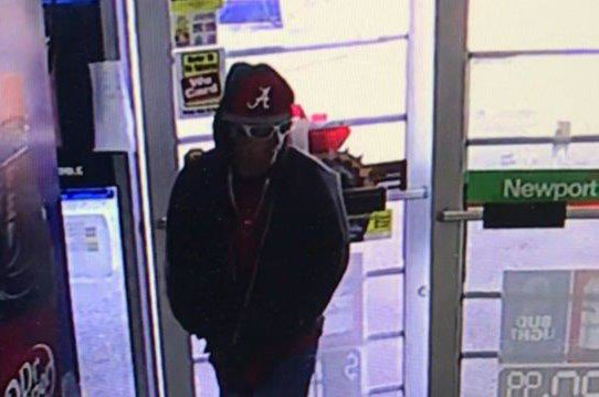 Can you identify this suspect? He's accused of stealing credit cards from a home