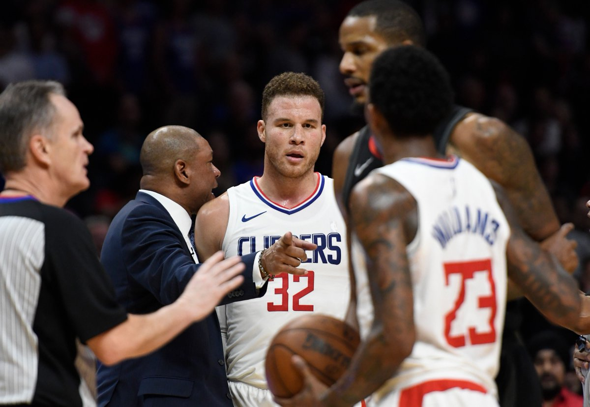 test Twitter Media - Trevor Ariza and Gerald Green suspended two games for aggressively entering Clippers locker room No penalties for Blake Griffin, Chris Paul and James Harden, per @wojespn https://t.co/wYq7v2q3Lb