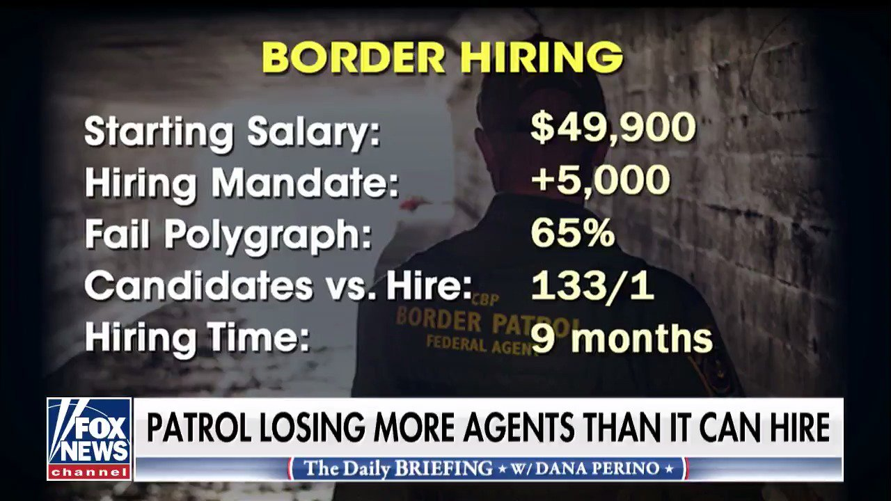 U.S. Border Patrol down 1,800 agents as #Trump calls for more border security https://t.co/Sln2nKy7pr