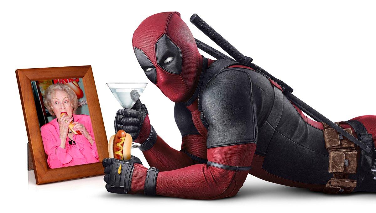 Deadpool wishes @BettyMWhite a happy birthday