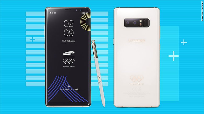 Samsung's Galaxy Note 8 only for Olympians