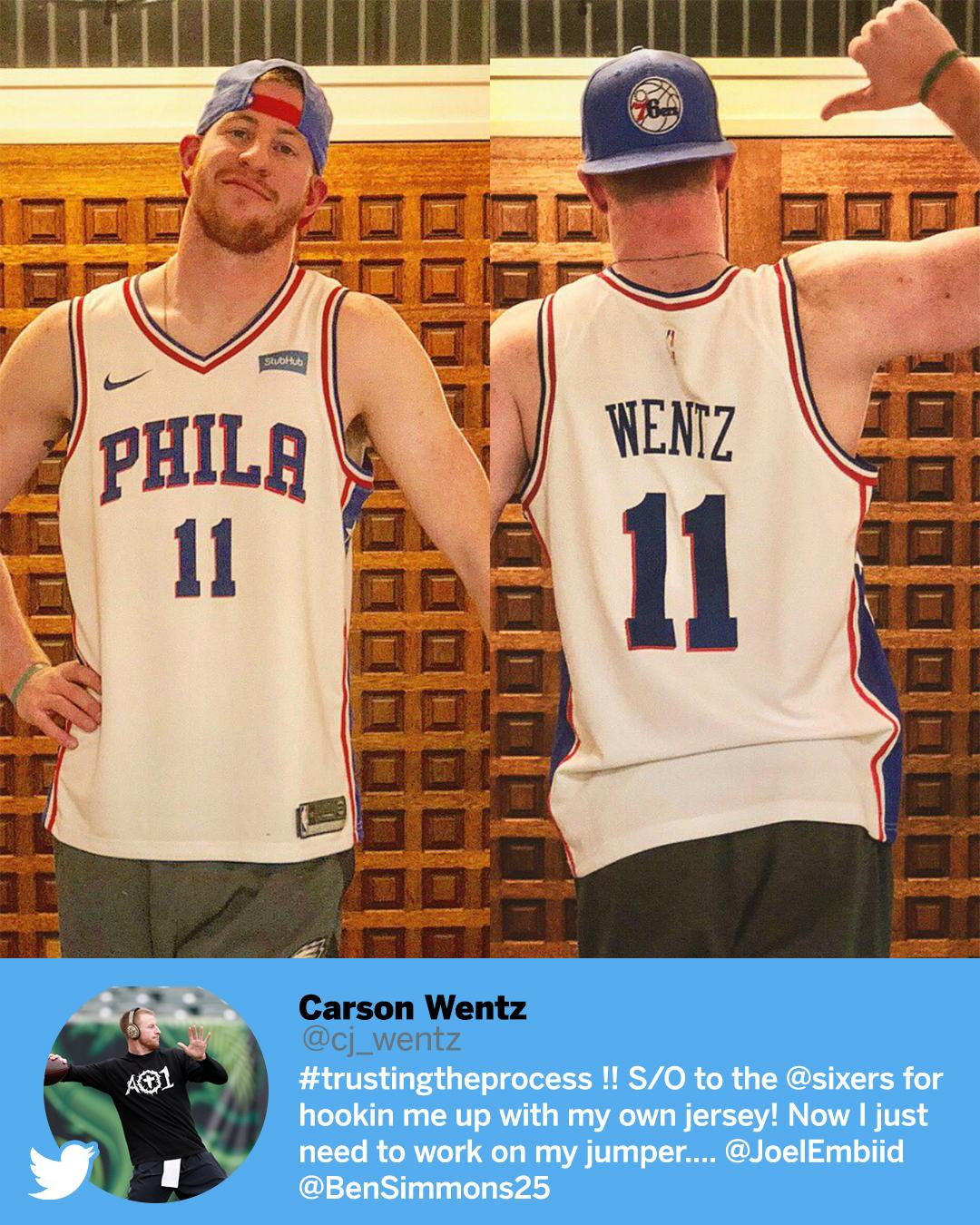 Carson Wentz trusts the process. https://t.co/ro9NVR2TOg
