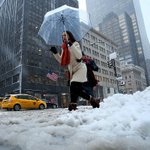 Winter storm unloads snow and ice on South, heads for Northeast