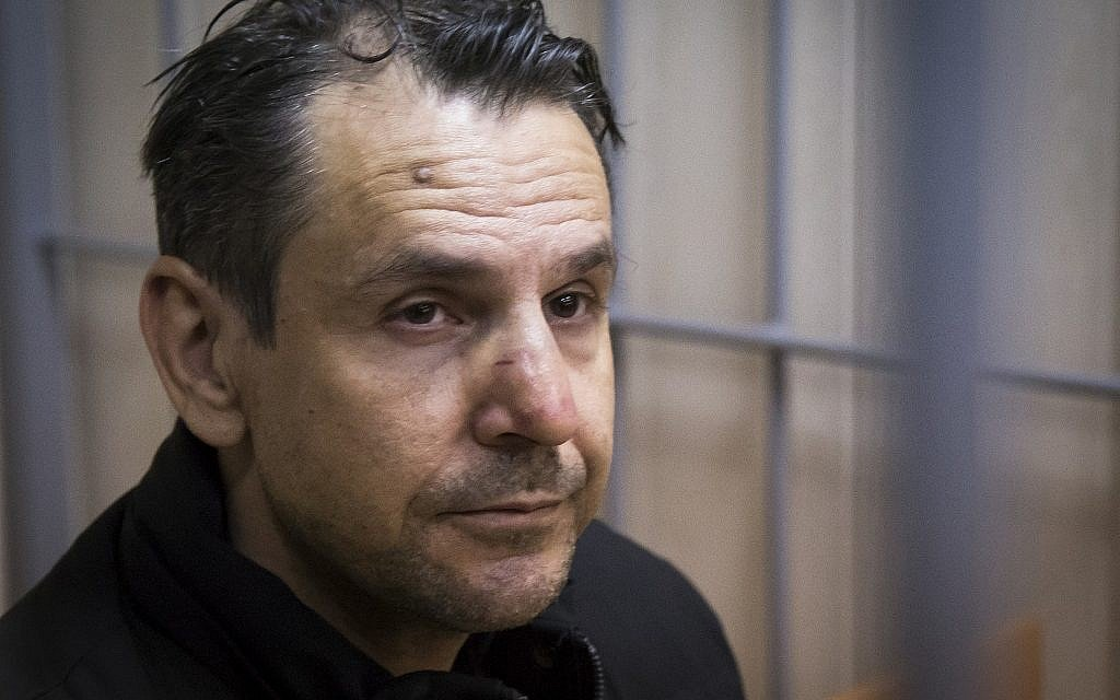 Israeli stabber of Russian radio host diagnosed with schizophrenia