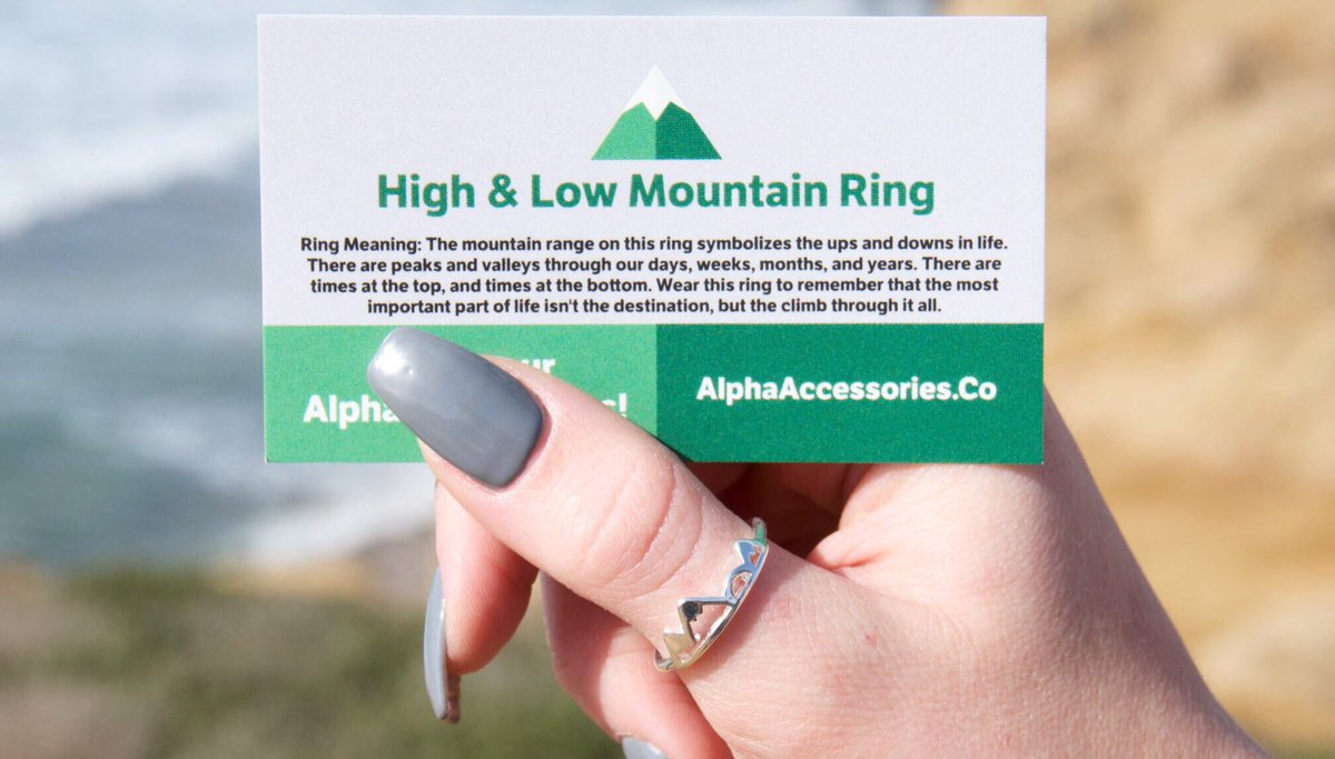 RT @FlTNESSGlRL: Neeed this high & low mountain ring from https://t.co/cYrLI2a8iV https://t.co/yYPofmpKtS