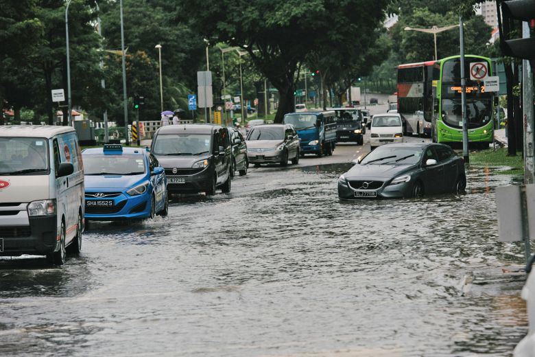 Temporary road added to Tampines flood woes
