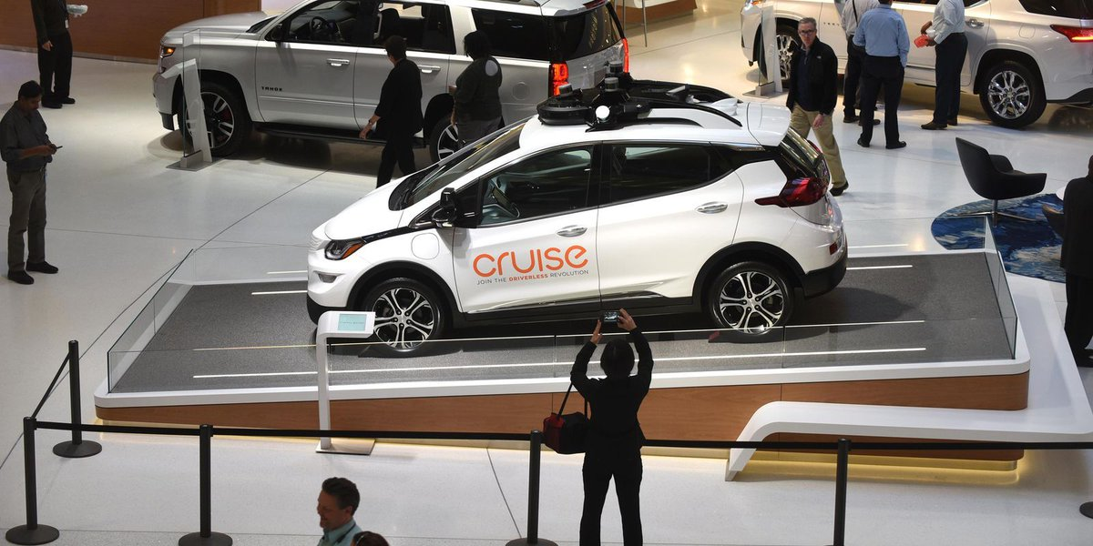 GM's self-driving fleet car makes public debut