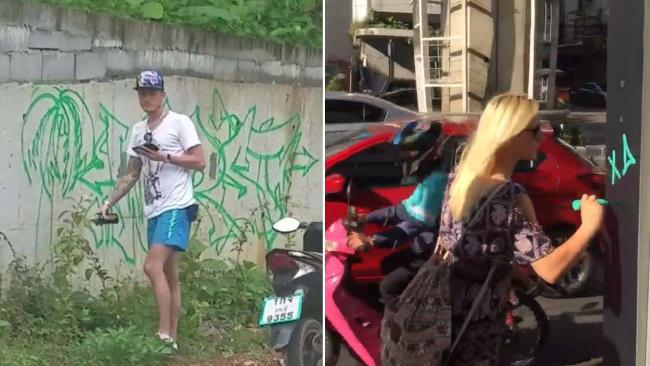 Tourist vandalism sparks outrage in Thailand