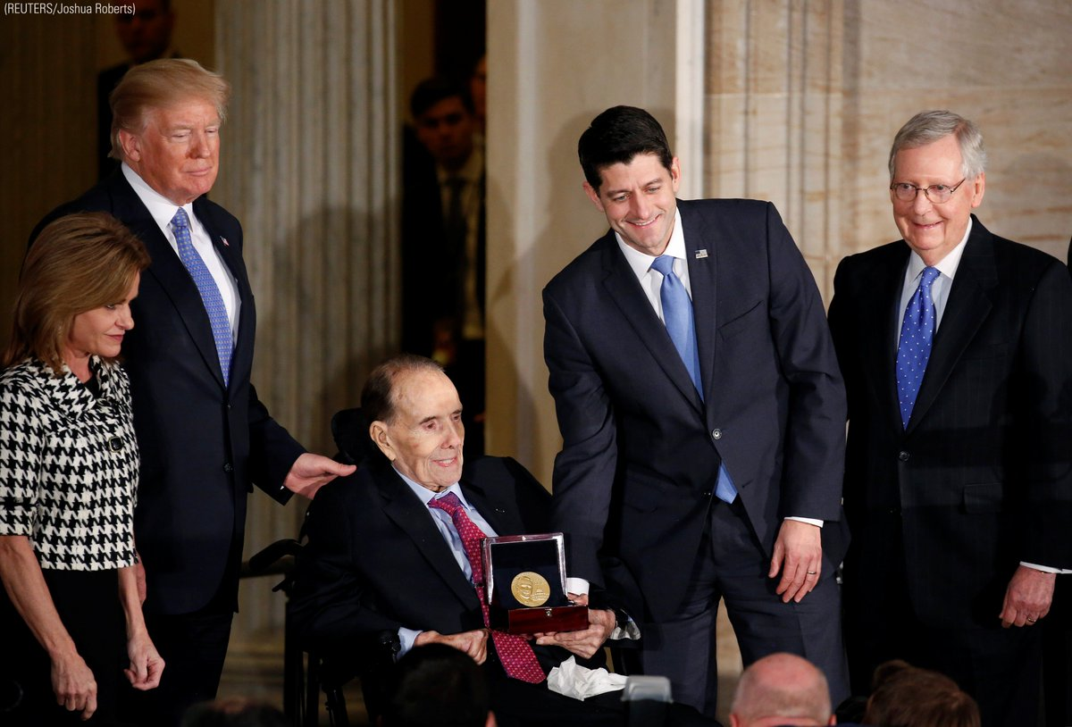 WATCH: Bob Dole receives Congr bob dole