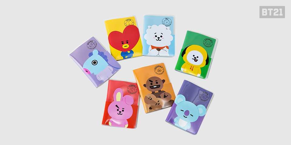 #BT21 way to travel in style #passport ���� https://t.co/DOJ9sSmE4Q