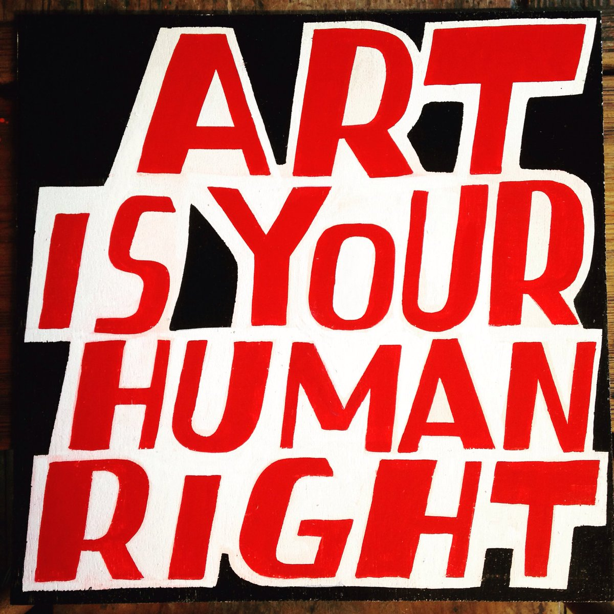 test Twitter Media - RT @BobandRoberta: Art is your human right https://t.co/GURhuJunTV