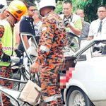 Two siblings killed, two others hurt in car-lorry Tenom collision