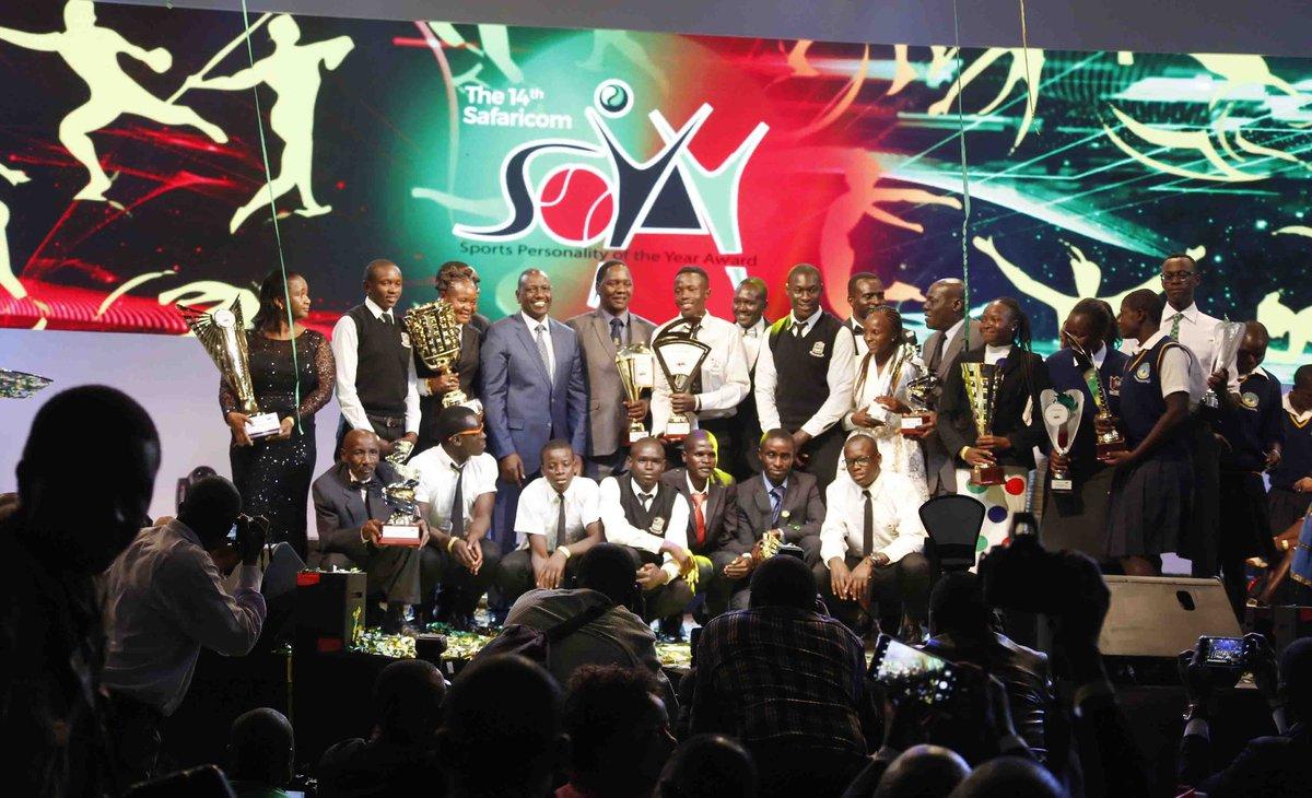 Soya awards: Paralympian Samuel Muchai, Conseslus Kipruto fly high