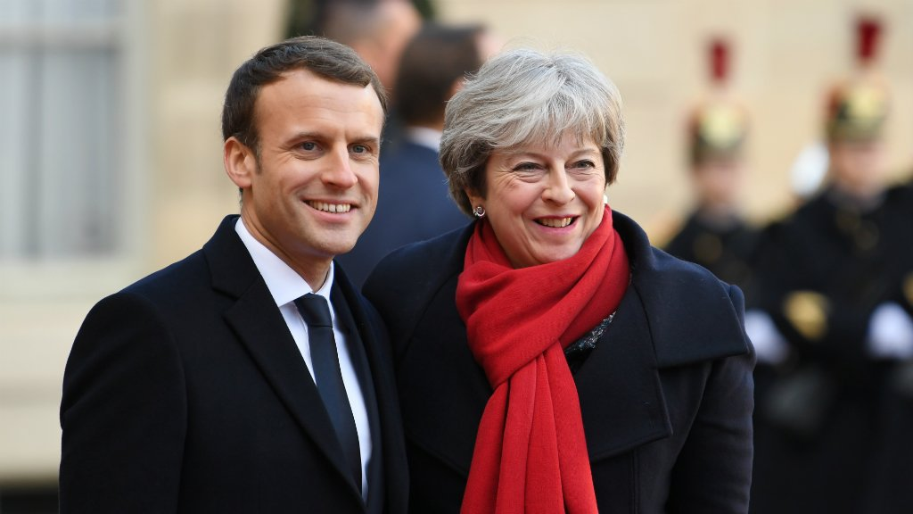 Terrorism, migration top the agenda of UK summit with Macron and May