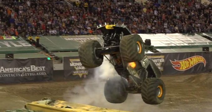 How we do Throwback Thursday @MonsterJam