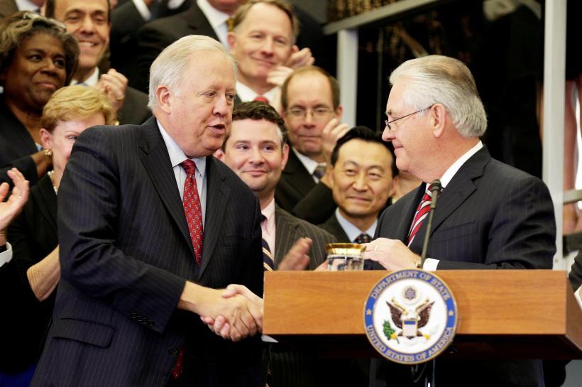 No. 3 U.S. diplomat quits in latest departure under Trump