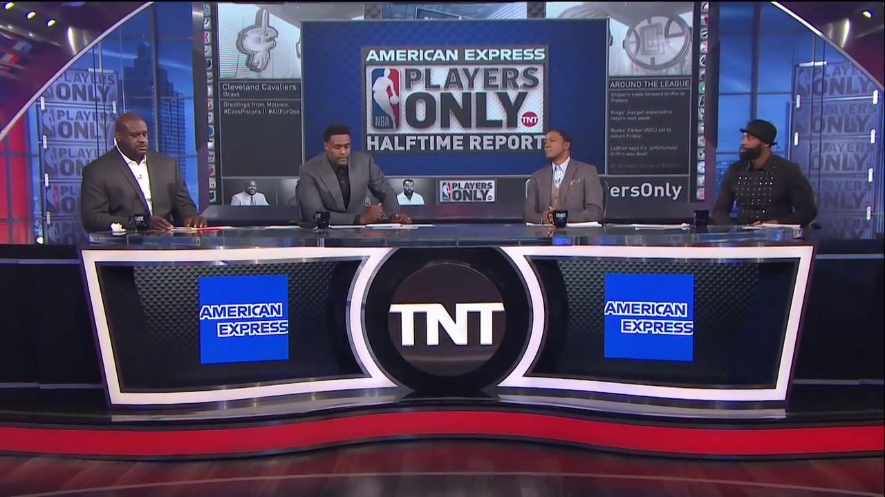 The #PlayersOnly crew reacts to the reports that Kevin Love has broken his left hand and could miss 6-8 weeks. https://t.co/Vnvt3rP6qe