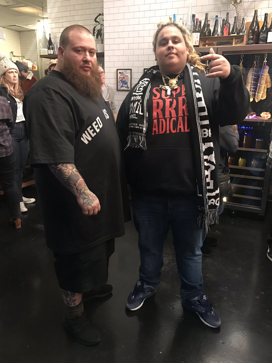 RT @_FatNick: Ate some beautiful awesome food with @ActionBronson ????????,