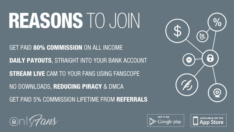 Join OnlyFans today, set a monthly subscription price and get paid for your content! AO8S8Y3OBs