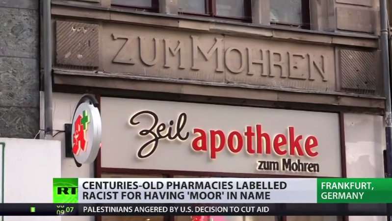 Historical 'Moor' pharmacies attract ire of immigrant rights group in Germany