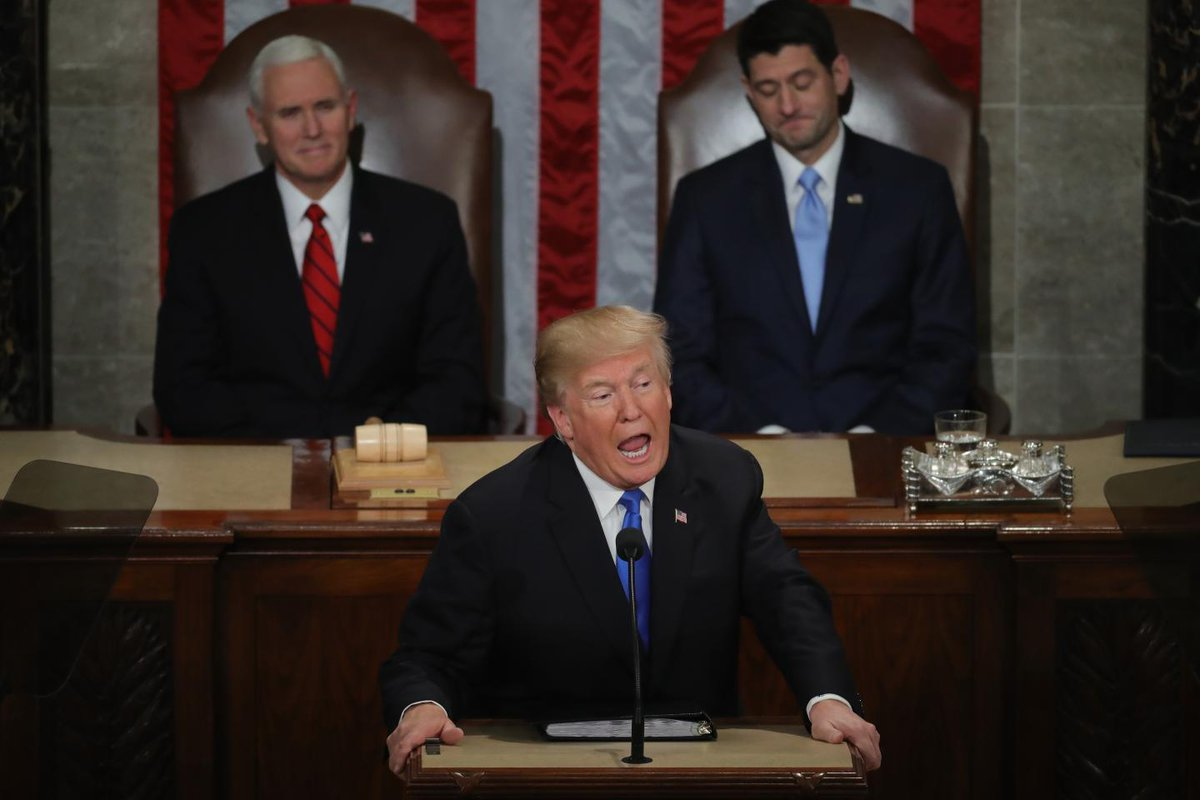 Now the State of the Union's over it's back to the chaos of Trump government | Opinion