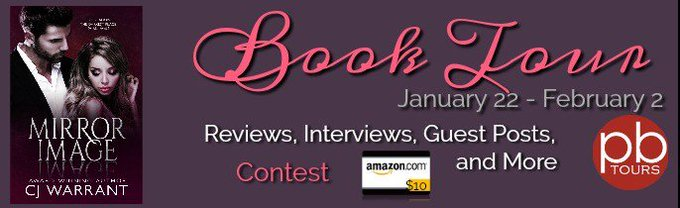 Meet CJ Warrant, author of Mirror Image with a $10 GC #Giveaway -