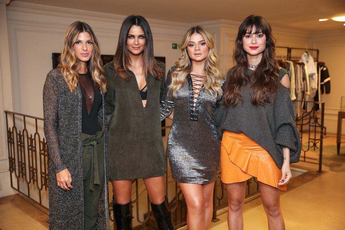 Fernanda Motta. Foto do site da Contigo que mostra Thaila Ayala, Fernanda Motta e outras celebridades vão a evento de moda
