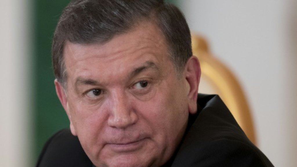 Uzbekistan's feared national security chief replaced: media