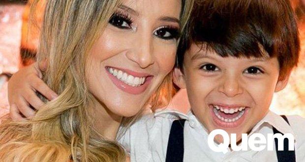 Cristiano Araujo. Foto do site da Quem Acontece que mostra Filho de Cristiano Araújo comemora 5 anos com festa das tartarugas ninja