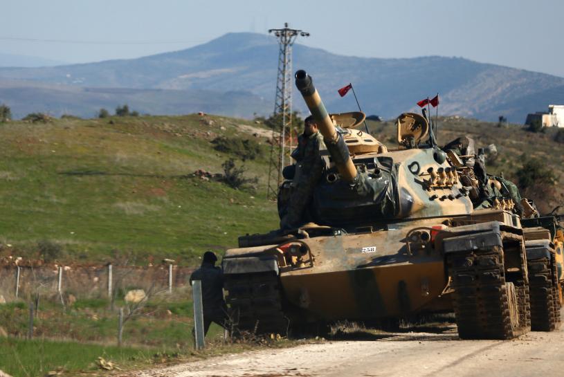 France's Macron warns Turkey over Syrian operation