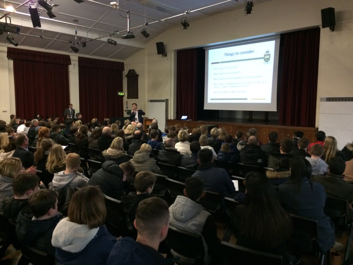 test Twitter Media - A packed hall for our Year 9 Options Evening tonight. Mr Titheridge gives parents and students plenty of sound advice for making good choices. https://t.co/2VMSoB8KJe