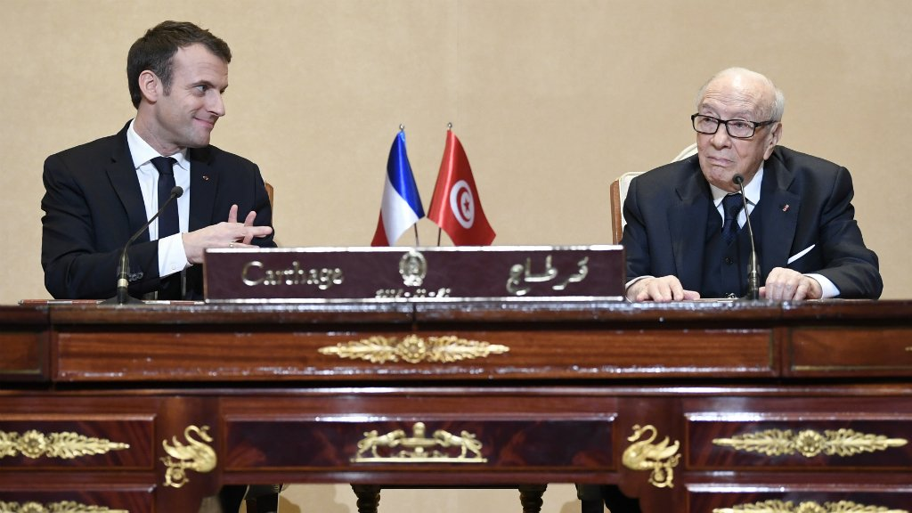 France's Macron to bolster Tunisia ties on maiden state visit