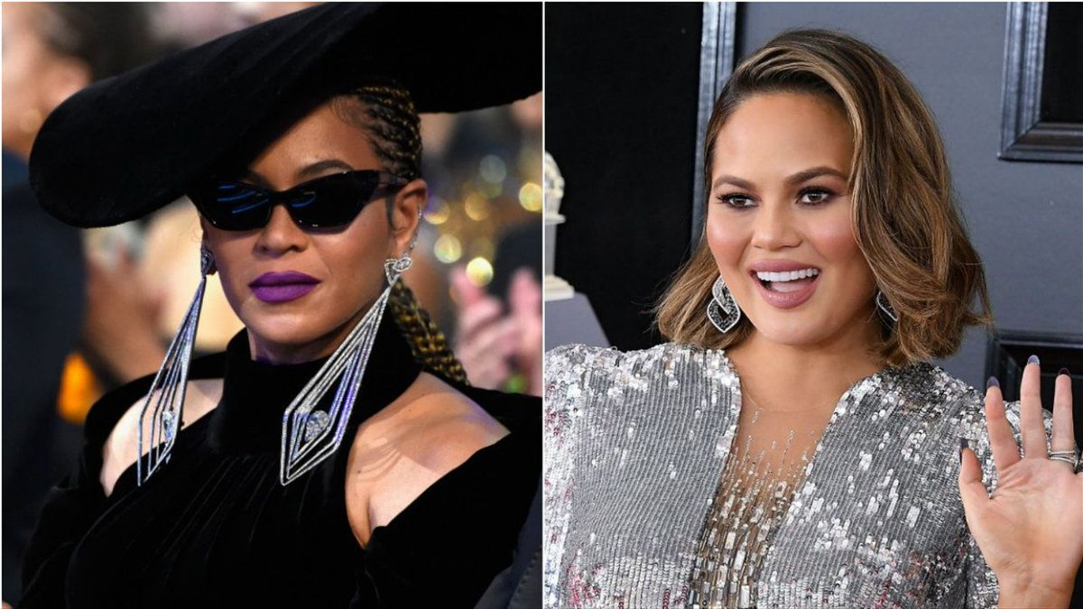 Chrissy Teigen Literally Bowed To Beyonce And Called Her 'My Queen'