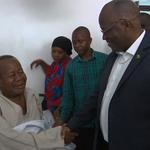 JPM visits King Majuto, patients at Tumaini Hospital