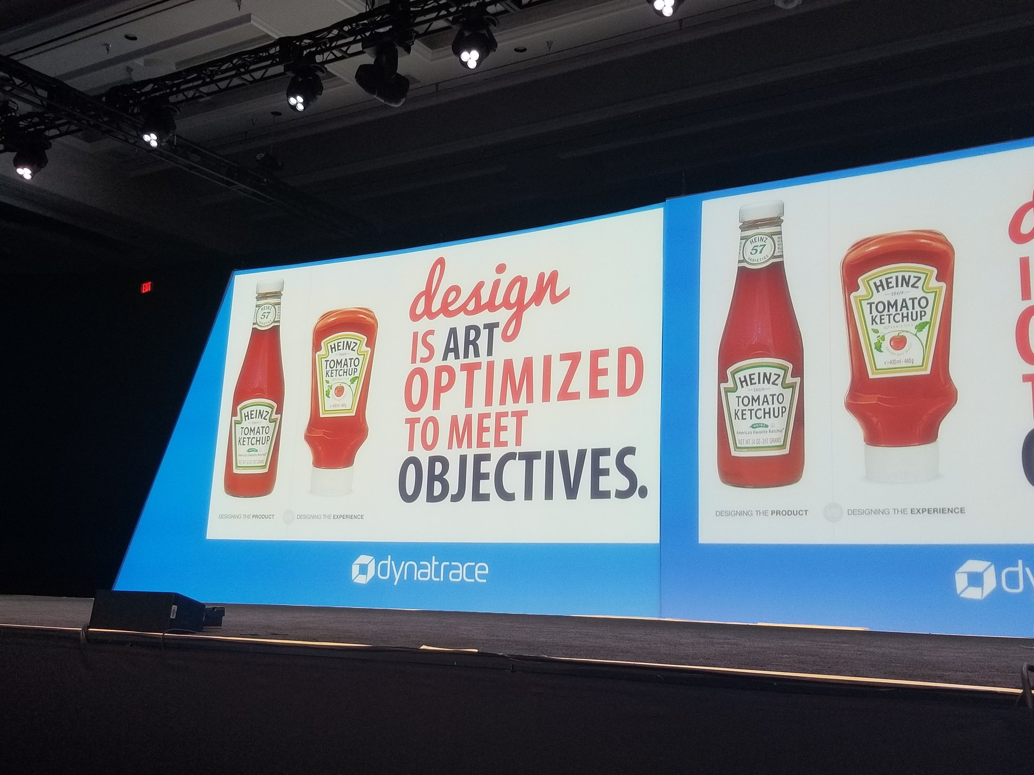 Everyone has a strategy for getting ketchup out of the bottle. How many years did it take for us to realise there is an easier way? Challenge conventional thinking @briansolis #Perform2018 @Dynatrace https://t.co/B7HmYm1dKn