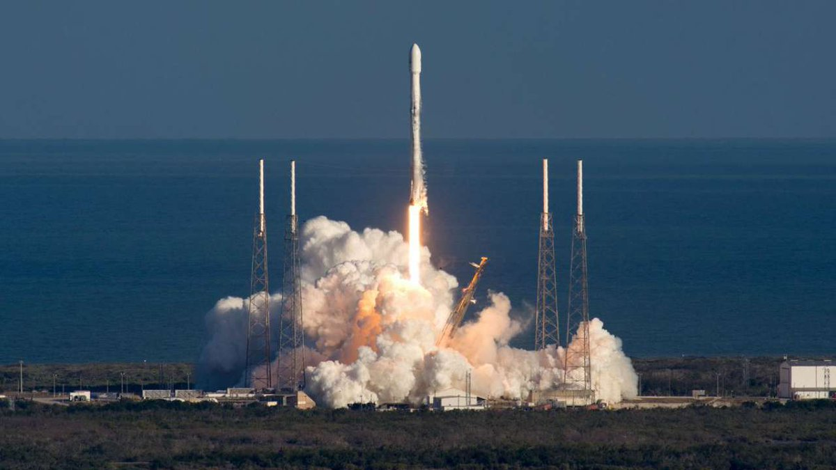 SpaceX launches Luxembourg-made surveillance satellite for NATO