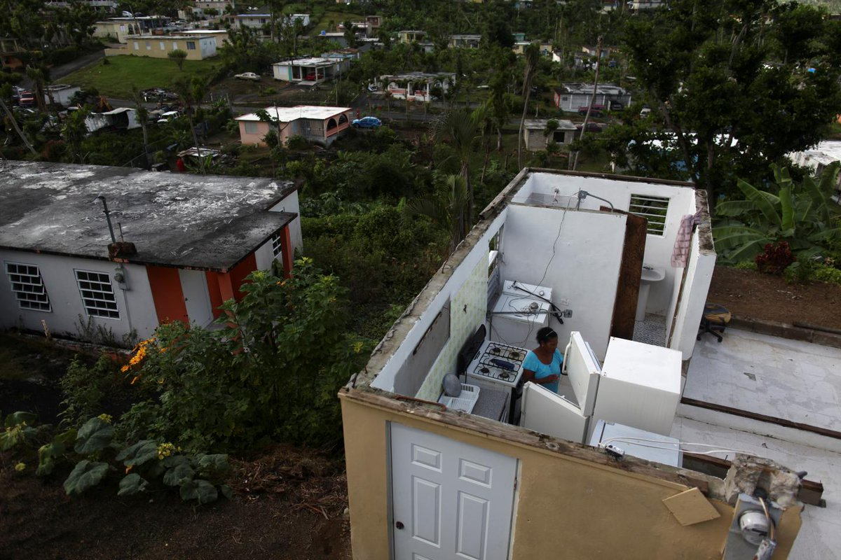 """Trump tells Puerto Rico """"We love you"""" as FEMA cuts off food and water aid to the island"""