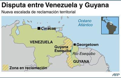 """Venezuela considera que la ONU """"se excedió"""" en disputa fronteriza con Guyana - Diario Co Latino"""