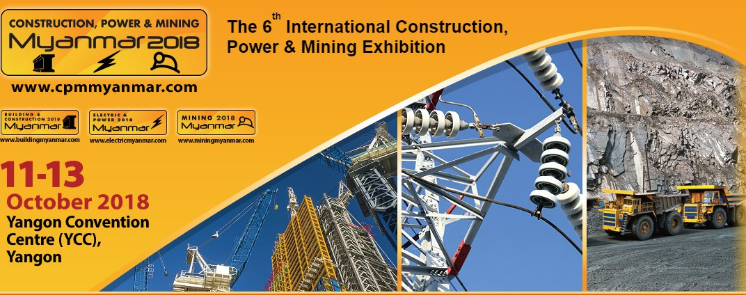 test Twitter Media - #Myanmar's 3-in-1 trade show #CPMM2018 returns BIGGER, BETTER and BOLDER to largest, purpose built venue YCC. Curious? Click here for more info: https://t.co/b8j5aclEZm  #energy #mining #construction #asean #trade #export #yangon @CPM_Myanmar https://t.co/Nq3HGGzDtL