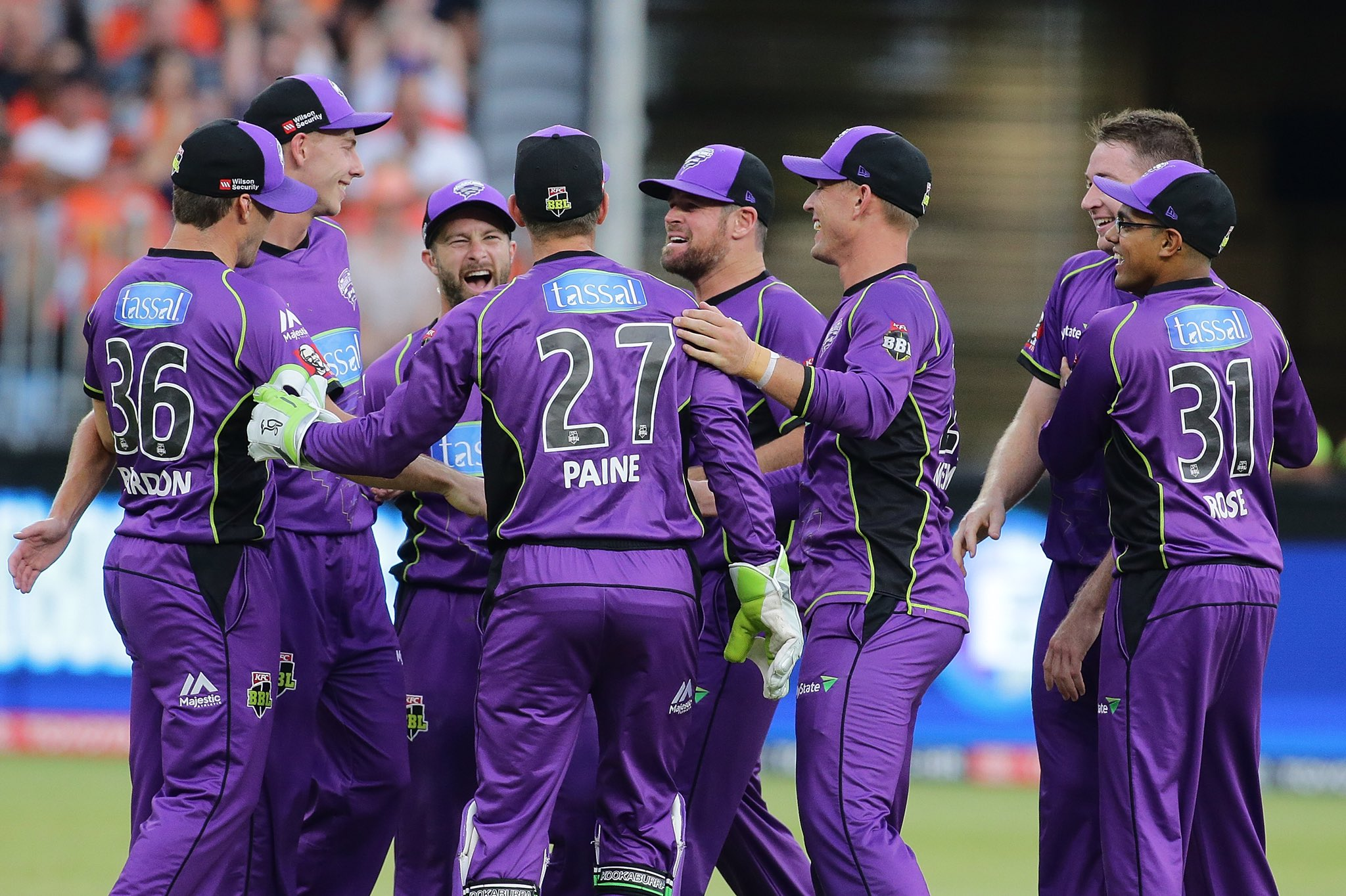HURRICANES WIN! We have defeated the Scorchers by 71 runs to secure a place in the #BBL07 final! A fantastic effort with the bat backed up with an impressive effort with the ball and in the field! #TasmaniasTeam 🌪 https://t.co/txpuUceEdA