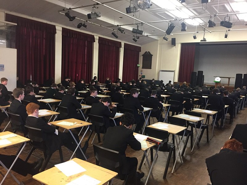 test Twitter Media - Our top mathematicians from years 9 and 10 taking part in the @UKMathsTrust Intermediate Maths Challenge. https://t.co/lrpe7avTdo