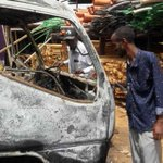 Shots fired as crowd protests killing of two watchmen on Garissa road