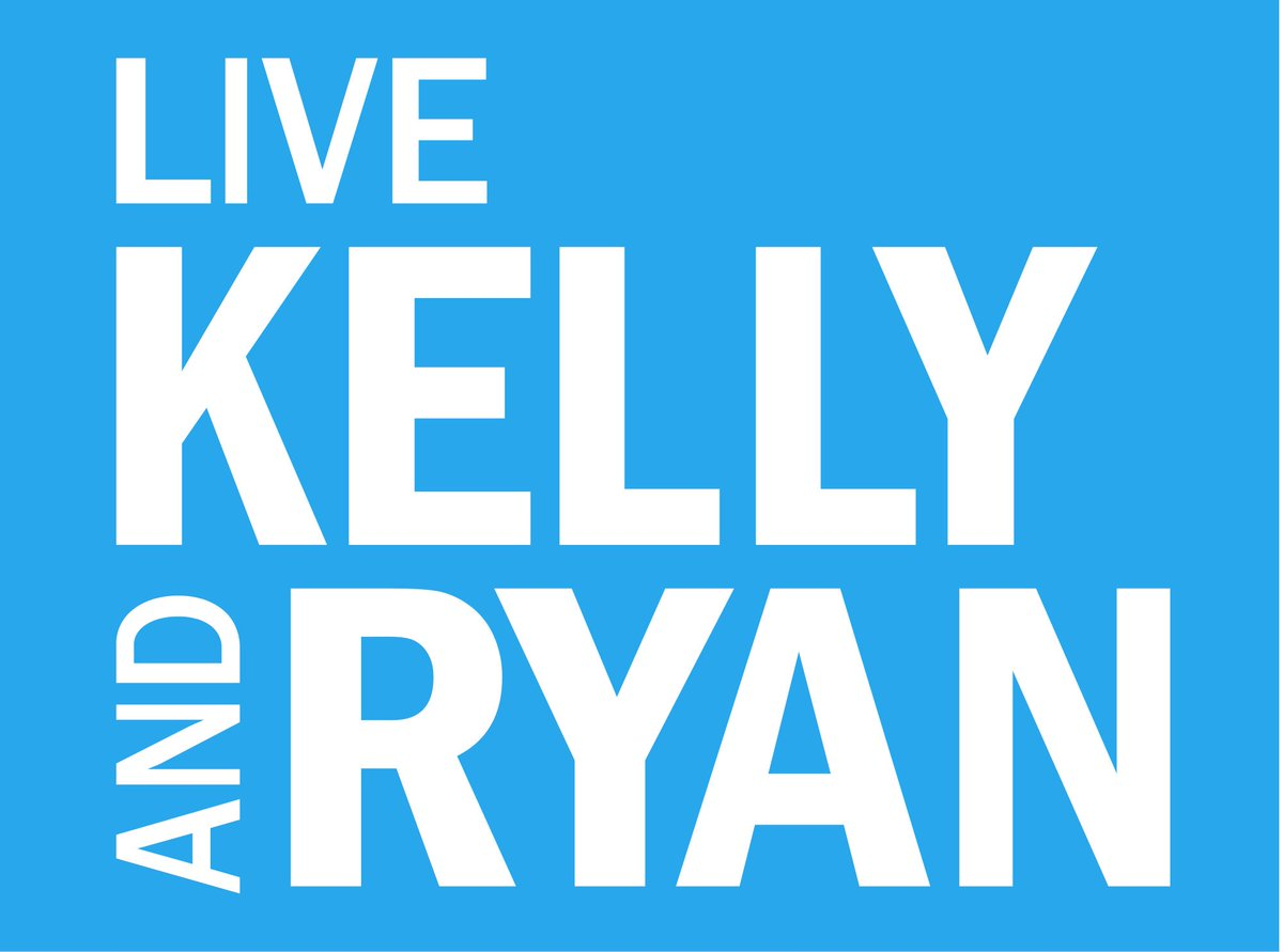 We made it! Going live on @LiveKellyRyan on ABC!! Tune in! https://t.co/awxxrgpQ0O