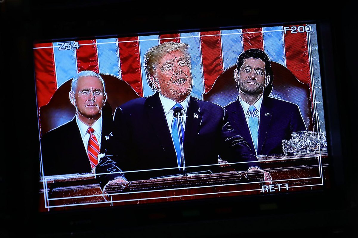 Trump's SOTU was the least popular in at least 20 years, poll shows